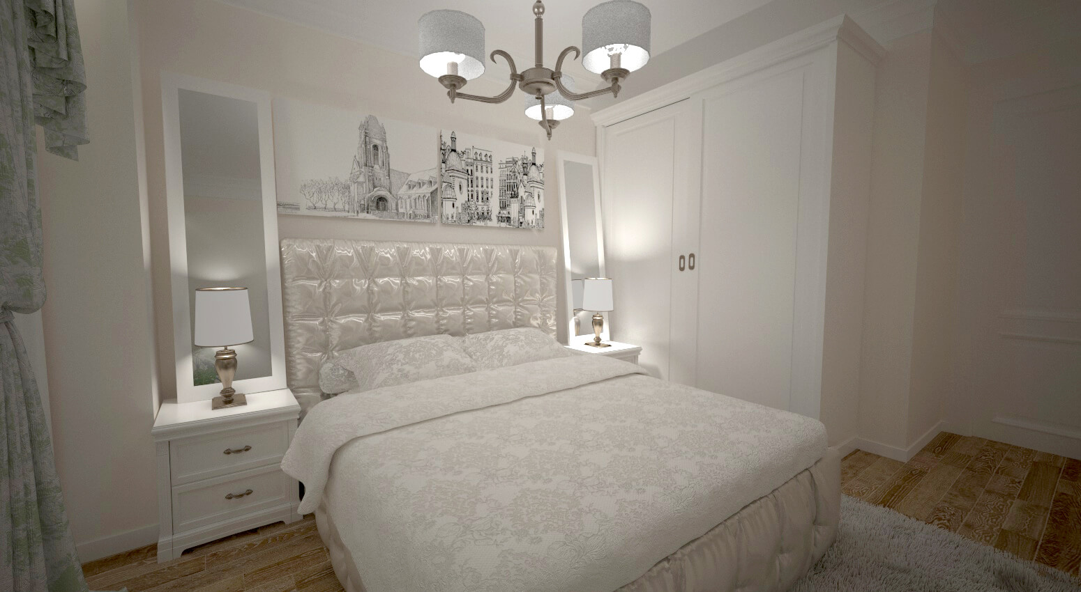Dormitor apt mare 2